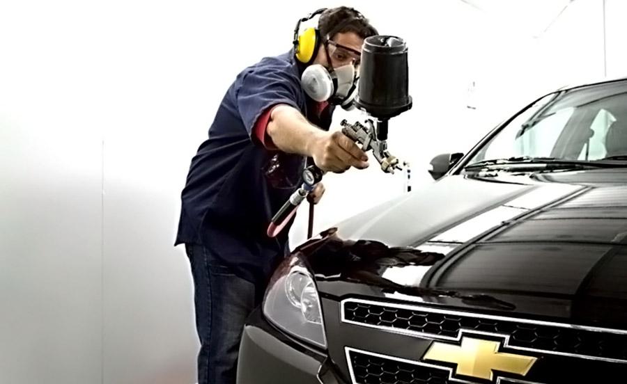 pintando auto